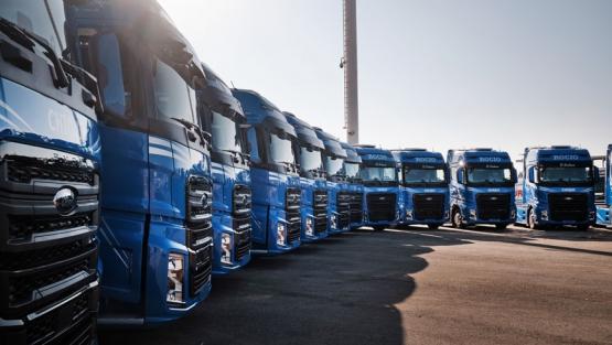 Trans-Sev estrena flota Ford Truck en España